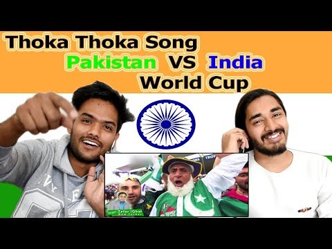 Indian reaction on Thoka Thoka song for Pakistan Cricket Team | Swaggy d