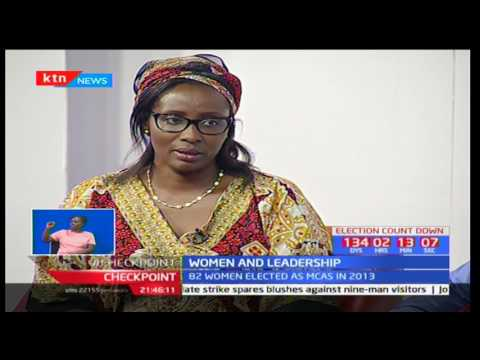 Checkpoint: Women and Leadership - Are women well represented in Parliament?