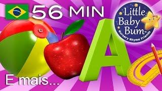Canções De Aprendizagem | ABC, Cores, 123, Crescendo E Mais! | LittleBabyBum!