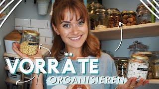 Küche organisieren & Vorräte sortieren - meine Tipps & Tricks