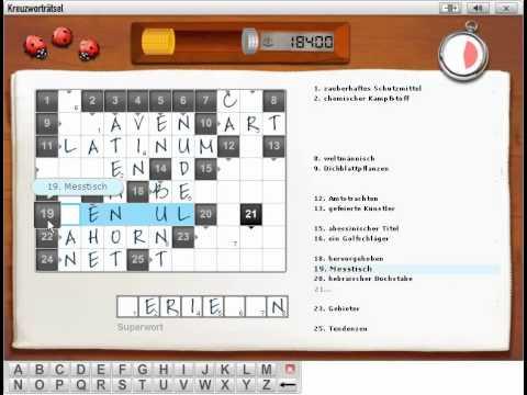 Kreuzworträtsel Online Spielen Kostenlos