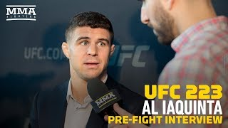 UFC 223: Al Iaquinta Offered to Fight Khabib Nurmagomedov On Short Notice - MMA Fighting