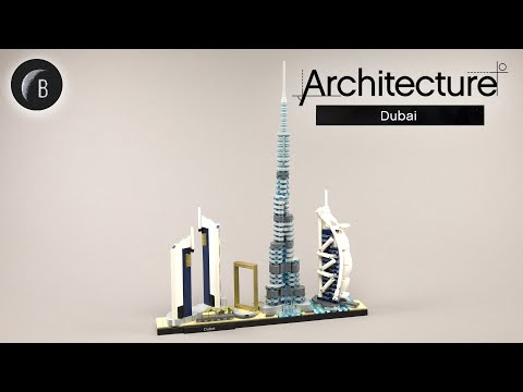 Vidéo LEGO Architecture 21052 : Dubaï (Émirats Arabes Unis)