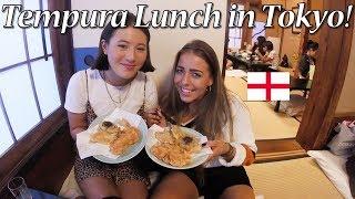 イングランド人女子と浅草で天ぷらランチ!/ English Girls Eat Tempura In Asakusa, Tokyo!