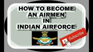 #HOW TO BECOME AN AIRMAN IN AIRFORCE