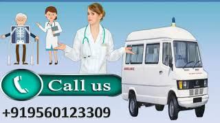 Life Saver Road Ambulance Service in Muzaffarpur and Ranchi by Medivic