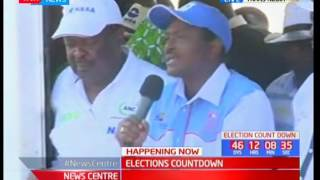 Elections Countdown: Ongoing rally in Trans Nzoia