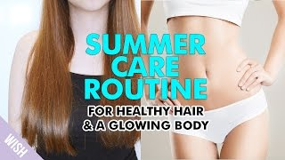 Healthy Glowing Hair & Body Secrets (Oily Itchy Scalp and Dry Hair Solution)