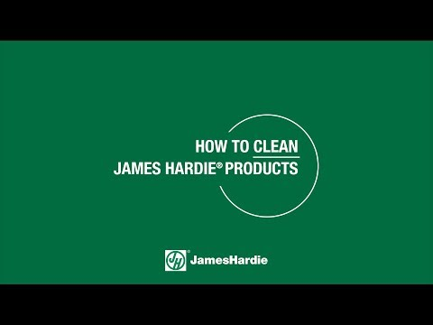 Cleaning your James Hardie products the correct way keeps the warranty intact. Make sure you are going about it properly
