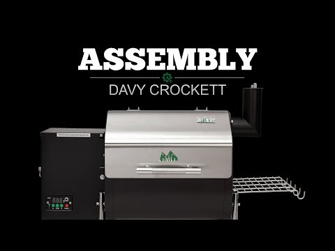 Green Mountain Grills - Davy Crockett WiFi Smart Controlled Pellet Grills