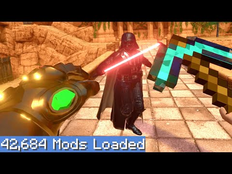 Blade and Sorcery VR but I downloaded every single mod