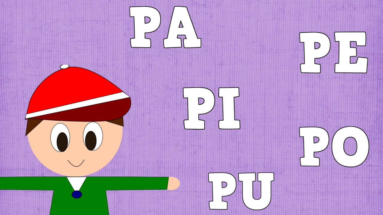 Sílabas PA PE PI PO PU  - Syllable with P - Aprender a Leer