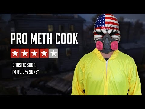 [Payday 2] Cooking Meth with Pubs