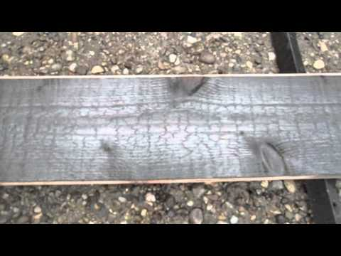 Creemore House Charred Wood Siding Treatment