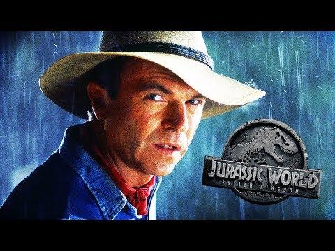 Alan Grant In Fallen Kingdom!?   Jurassic World: Fallen Kingdom Speculation & Rumours