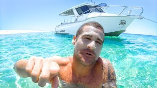 WE GOT A NEW BOAT Spearfishing Remote Islands Catch And Cook Part 1 - YBS Lifestyle Ep 53