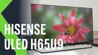Hisense ULED H65U9, análisis