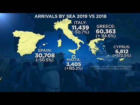 Η Ελλάδα κύρια πύλη εισόδου προσφύγων και μεταναστών στην Ευρώπη…