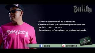 15 .- Sonrie - Ballin ft. Henry Hernandez (Lyric Video) - Nuevo