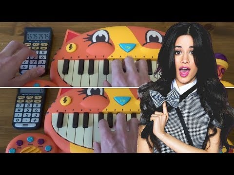 Camila Cabello - HAVANA ON 2 CAT PIANOS AND A DRUM CALCULATOR