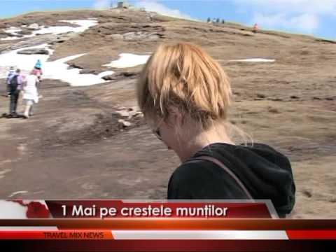 1 Mai pe crestele munților