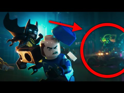 LEGO Batman Movie Teaser Trailer - ALL Secrets And Easter Eggs!
