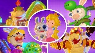 Mario + Rabbids Kingdom Battle - All Collectables (100% Museum Showcase)