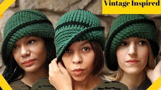 Crochet Vintage Cloche Hat Pattern - 1920s Flapper
