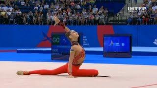 Как выступила украинская сборная по художественной гимнастике на Европейских играх 2019
