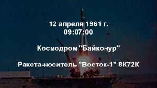 Поехали (хронология первого полёта человека в космос) Ю.А. Гагарин