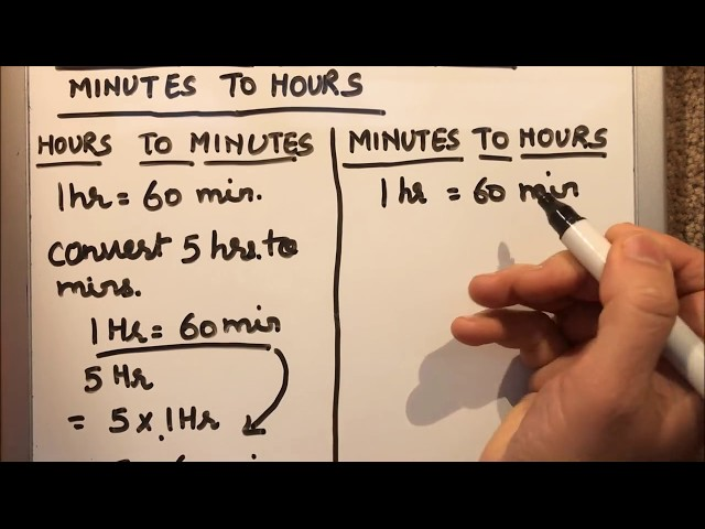 How To Convert 75 Minutes Days