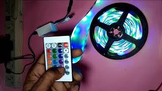 LED Strip Light RGB Controller Installation Guide step by step, led strip lights amazon, led strip
