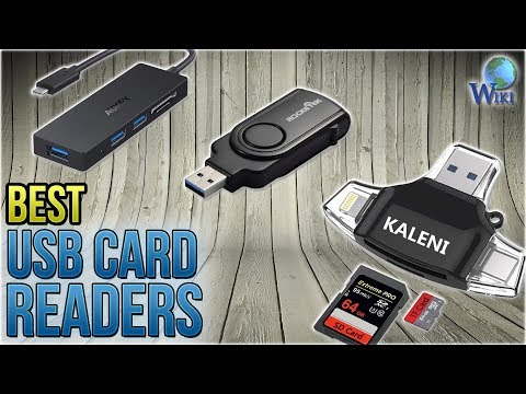 10 Best USB Card Readers 2018