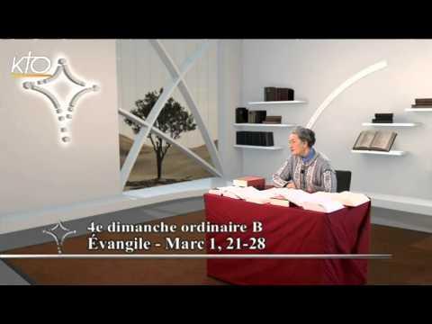 4e dimanche ordinaire B - Évangile