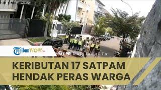 Viral Video 17 Satpam Datangi Rumah Warga Perumahan, Diduga Hendak Peras dan Intimidasi