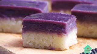Purple Sweet Potato Kuih Seri Muka!