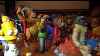 Random Toys & Collectables Video The Simpsons Incredibles Iron Man Battle Hulk