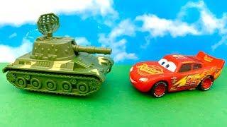 ???? Zig Zag McQueen i Czołg ???? Po Polsku ???? Bajka dla dzieci