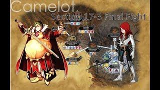 Gaius Julius Caesar  - (Fate/Grand Order) - FGO NA- Camelot Tristan Final Fight Chapter 17-3 Guide - Caesar Setup with One SSR