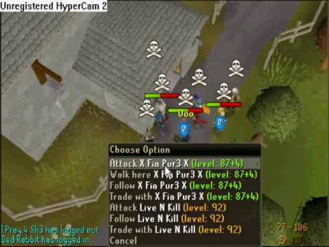 Hybrid Awesome MAXED AGS Solo RuneScape PK Video (TheBestPks