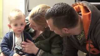 Part 1 - Twins T&D Having Their Cochlear Implants Activated