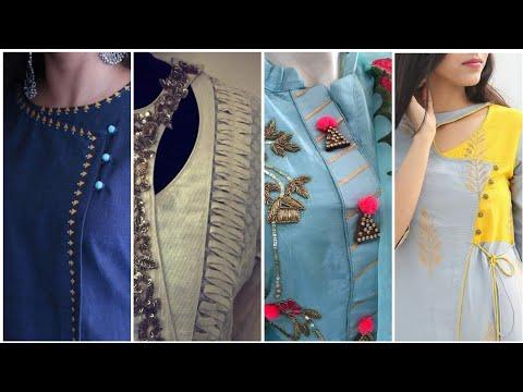 Very easy creative neck designs images & neck design for kurtis