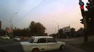 Лихач на краснодарской дороге