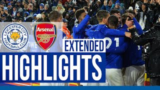 Leicester City 2 Arsenal 0 | Extended Highlights