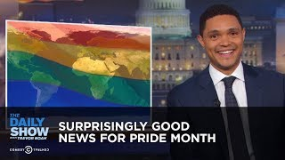 Surprisingly Good News for Pride Month | The Daily Show
