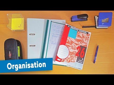 Oberstufe ➤ Organisation: Ordner/Mappe/Heft? & wie mitschreiben? | schoolsuccess.de