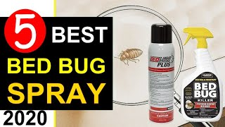 Bed Bug Killer 🏆 Top 5 Best Bed Bug Spray Reviews in 2020