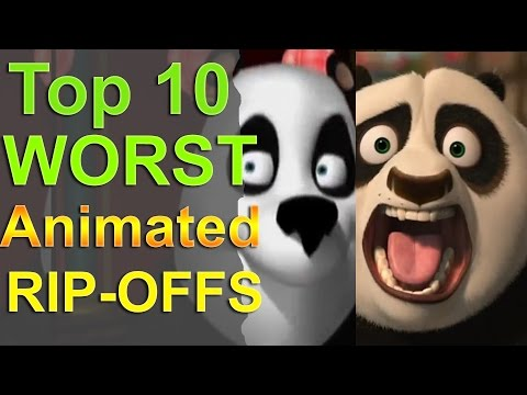 Top 10 Worst Animated Rip Offs