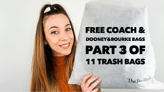 I Got FREE Coach And Dooney & Bourke Bags Part 3 Of 11 Trash Bags