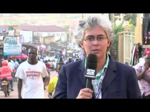 Journée marathon pour le Pape François en Ouganda